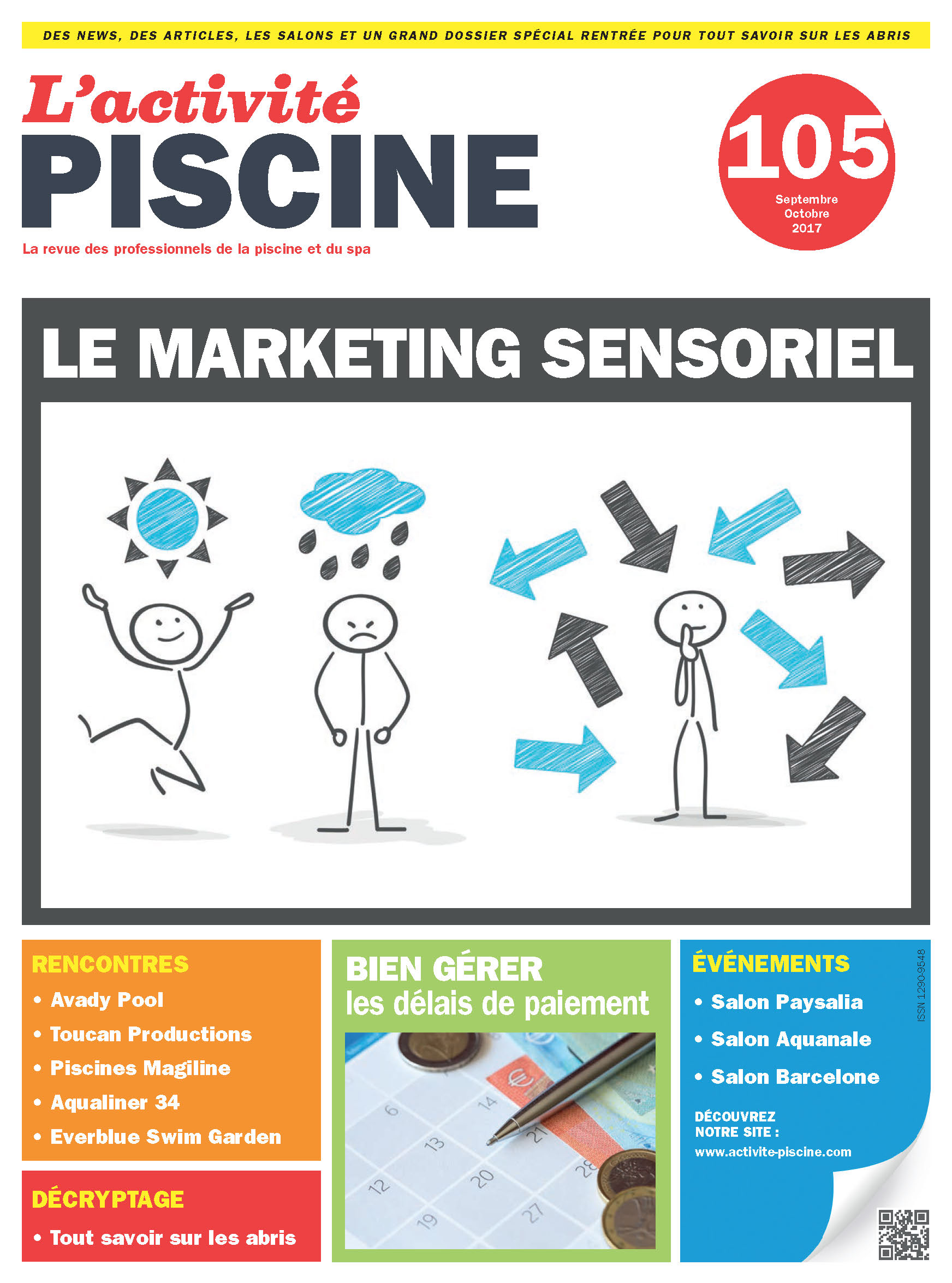 Vu dans le magazine activit piscine sept oct 2017 for Piscine labege